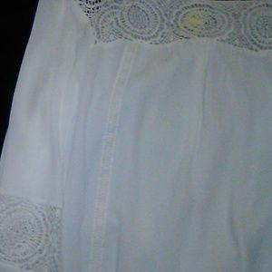 Off white blouse sz.22
